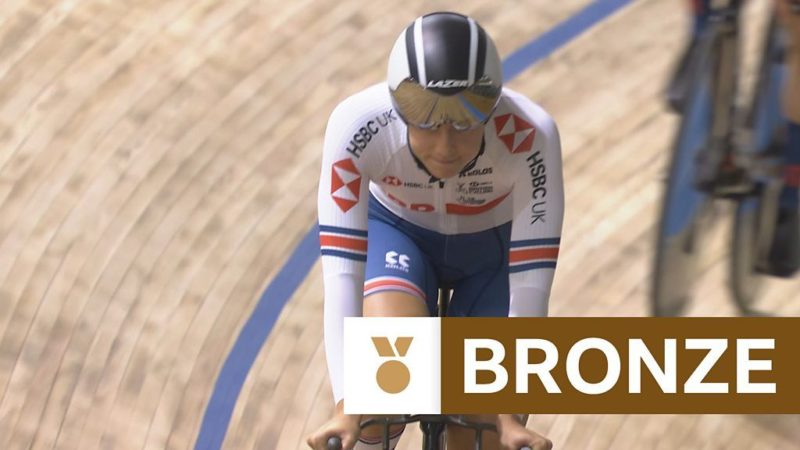 Track Cycling World Championships: Bronze medal in women's team pursuit