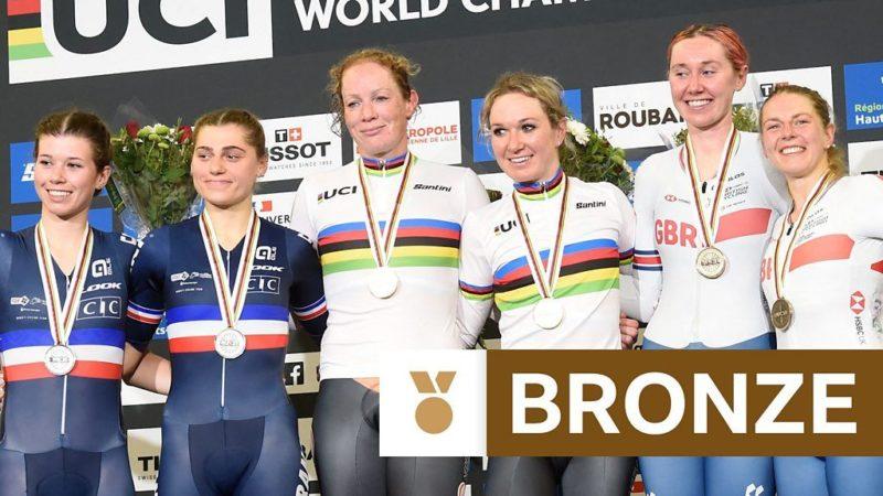 Mondiali di ciclismo su pista: la britannica Katie Archibald e Neah Evans vincono il bronzo nella Madison femminile