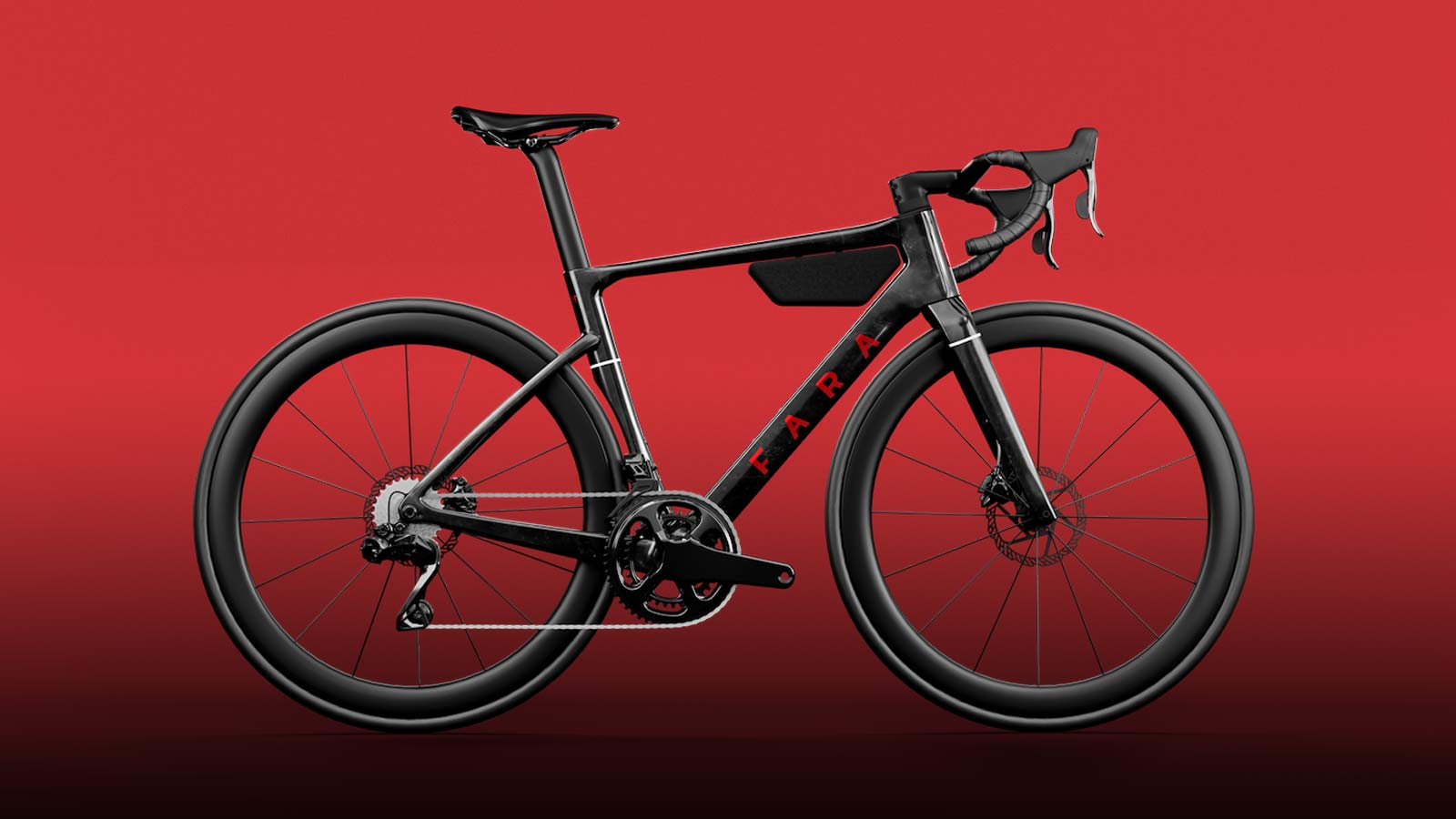 La bici da corsa aerodinamica Fara F-RD endurance va lontano, veloce…