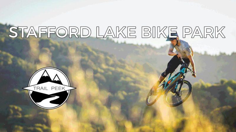 Mountain Biking Stafford Lake Bike Park