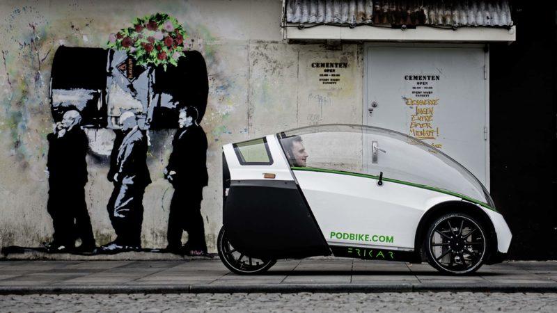 Storck x PodBike Frikar -sähköpyörä velomobile korvaa autosi