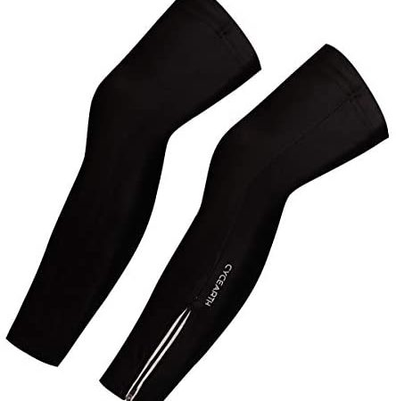 CYCEARTH Mannen Vrouwen Fietsen Been Warmers MTB Fiets Leggings Legwarmers Sport Panty Covers Zonwerende
