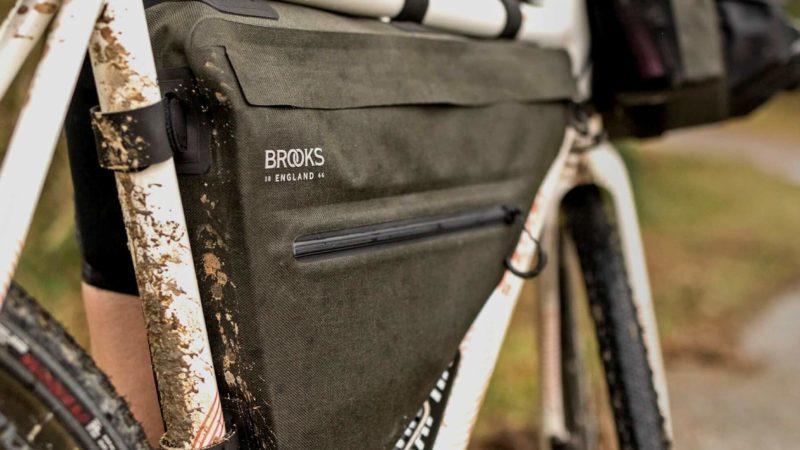 Brooks Scape-Taschen sind in mehr Optionen für Bikepacking & Touring geeignet!