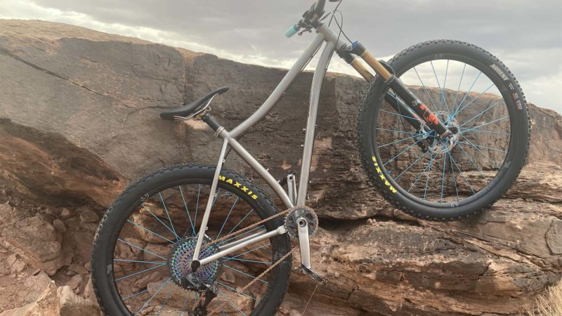 Road to Philly Bike Expo 2021: Pierre Chastain of Blaze Bicycles Buildings and Tests in Moab