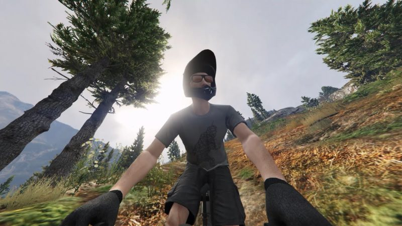 GoPro: Mt Chiliad Downhill Mountain Biking (GTA 5)