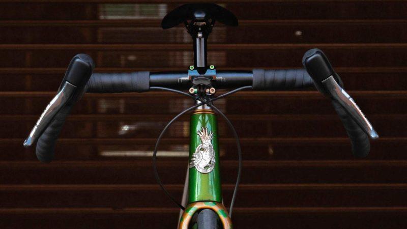 Curve Walmer Barras largas ficam estreitas, especificações BP bikepacking também!