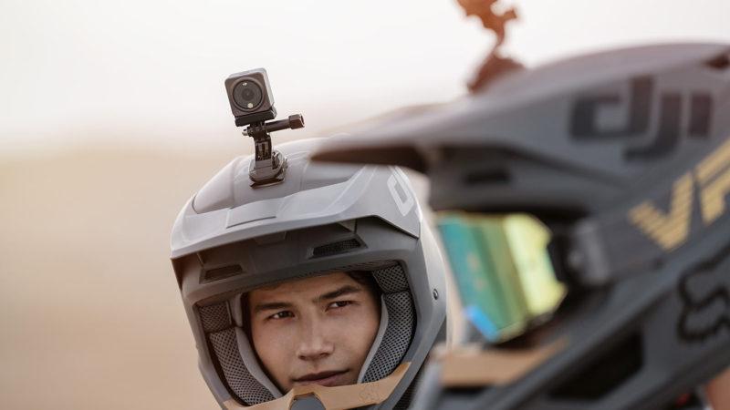 DJI Action 2 kameranın mini, modüler, manyetik tasarım filmleri 4K her yönden