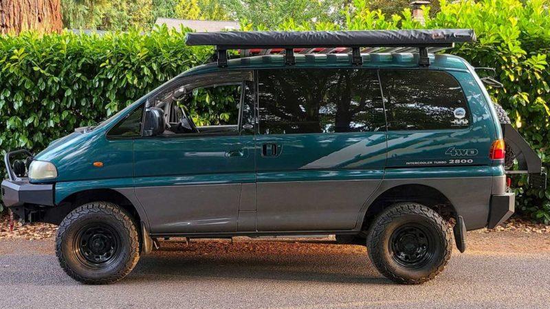Registration Revoked: Delica Vans No Longer Road Legal