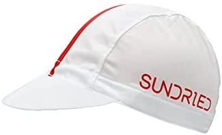 Sundried Fietsen Onder Helm Kalotje Retro Stripe Fietsen Hat Accessoires Fiets Cap