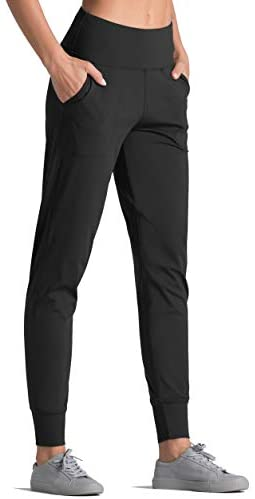 Dragon Fit Joggers for Women with Pockets,High Waist Workout Yoga Tapered Sweatpants Women's Lounge Pants