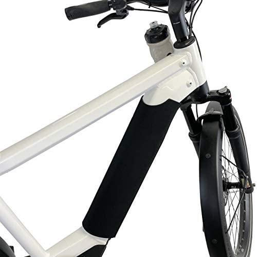 NC-17 Housse de Protection Standard en néoprène Noir pour la Batterie solidaire du Tube Oblique du vélo électrique Connect