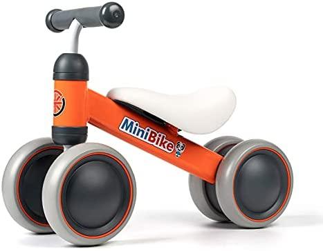 XIAPIA Bicicletta Senza Pedali Bici per Bambini 1-2 Anni Tricicli Neonati Corridori Giocattoli Regali per Bambini Bicicletta Equilibrio