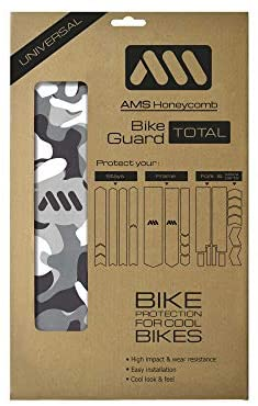 All Mountain Style AMS Paratelaio Basic ad alto impatto – protegge la tua bicicletta da graffi e ammaccature