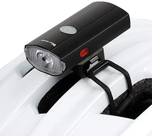 Zeroall Luce per Casco Bici Ricaricabile USB Luce Casco Anteriore/Posteriore con Luci Laterali, Impermeabile Lampada Luce Bicicletta Casco per MTB Bici da Strada Sicurezza in Bicicletta