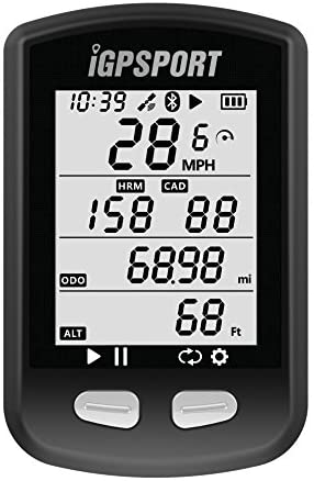 GPS Ciclocomputer con ANT+ iGPSPORT iGS10 Senza fili Impermeabile Computer da Bicicletta