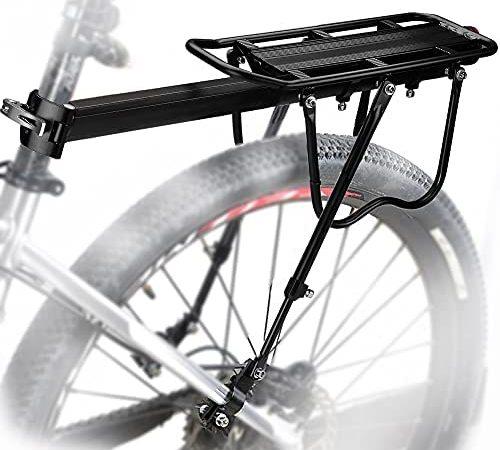 MAIKEHIGH Universel réglable Transporteur Porte-Bagages arrière de vélo de vélo Accessoires Équipement Support footstock Support vélo Racks avec réflecteur