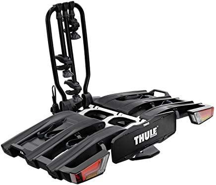 Thule 934101 Portabici da Gancio Traino EasyFold XT 3 Bici 13 Poli Nero