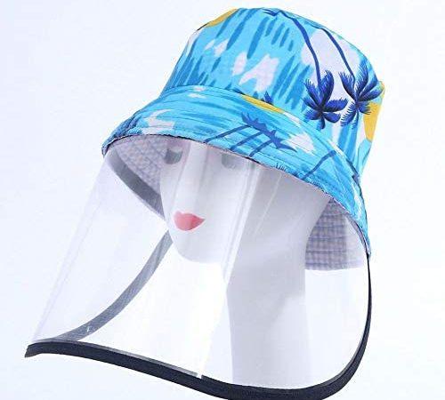 Fietsmutsen Volwassen kinderen Bedrukt Anti-spugen Beschermende hoedStofdichte afdekkapFiets HoofddekselsVissershoed