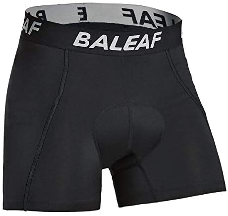 BALEAF Mannen Fietsen Ondergoed Gewatteerde Cycle Undershorts MTB Bike Shorts