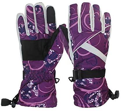 pamkyaemi Touchscreen handschoenen voor heren en dames, winter, warme fietshandschoenen, volledige vingers, MTB-handschoenen, schokdemping, antislip, ademend, fietshandschoenen, winter, fietshandschoenen