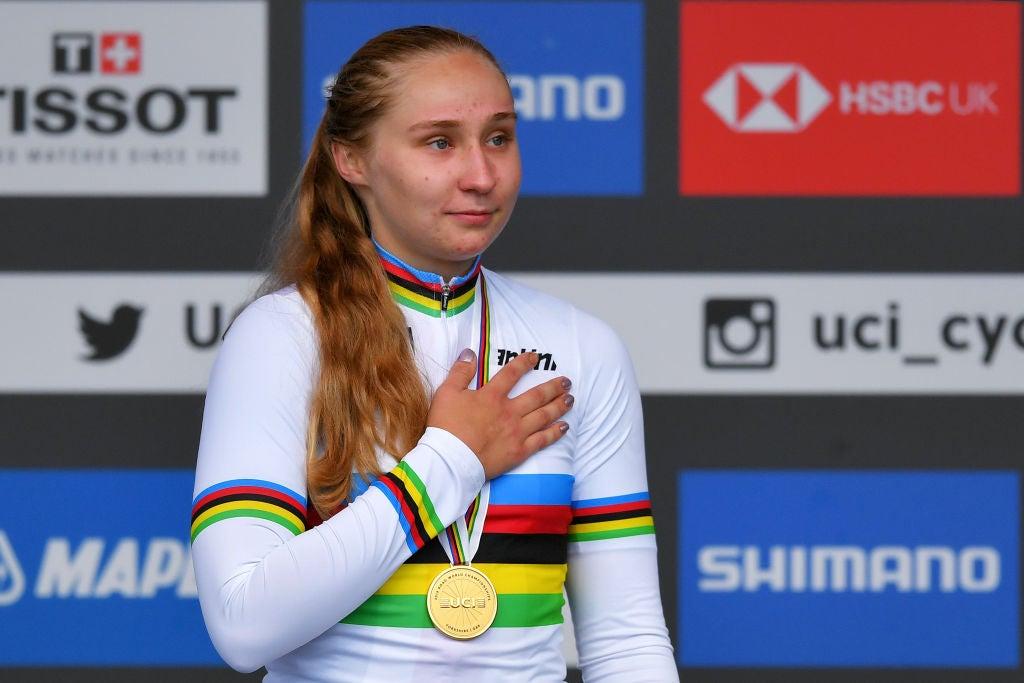 梅根賈斯特拉布想要一個女子 U23 世界類別,但前提是它是一個單獨的比賽