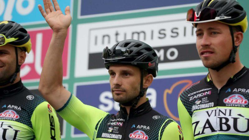 A equipe italiana Vini Zabù enfrenta dificuldades financeiras potencialmente fatais