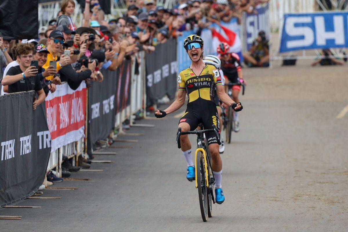 Vos voittaa UCI Cyclo-cross World Cupin Waterloossa