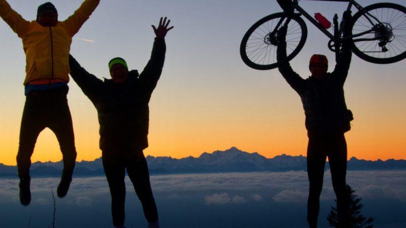 La Barillette.  Solopgang!  – Min cykeludfordring