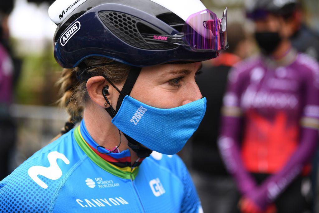 Van Vleuten soulagé de pouvoir pédaler vers la récupération après l'accident de Paris-Roubaix Femmes