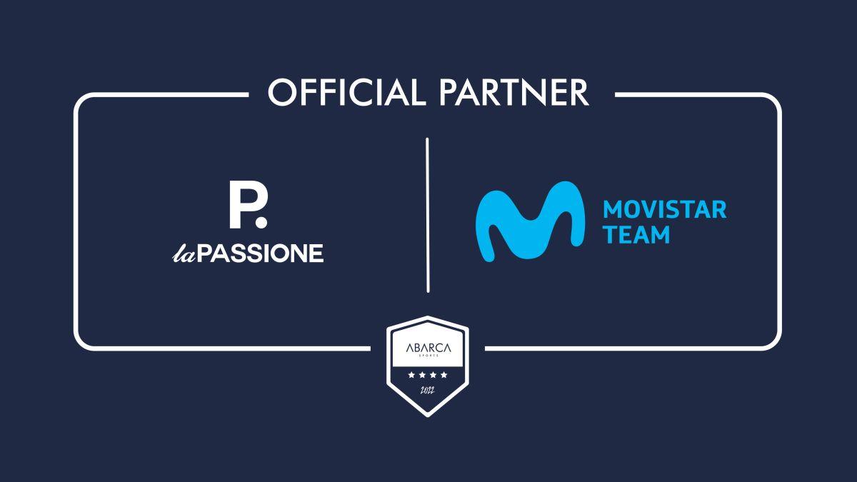 La Passione e Movistar Team uniscono le forze per il 2022