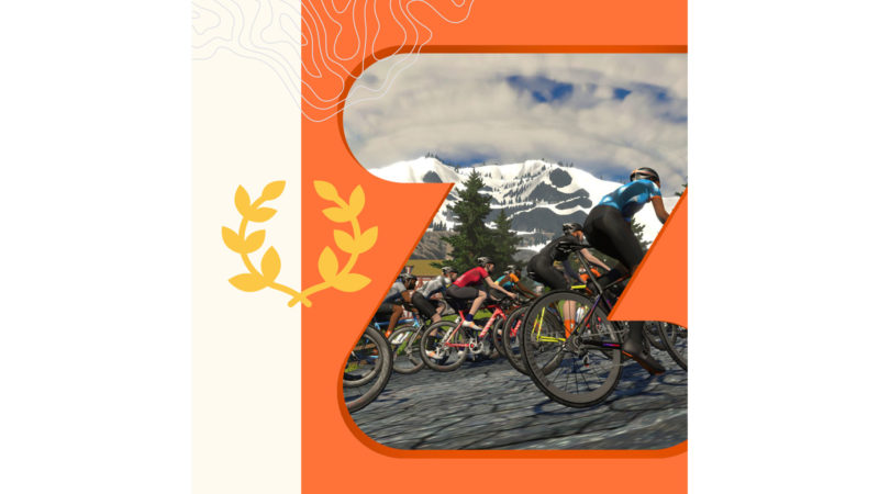 Zwift your way to a Local Legend on Strava without the boss knowing