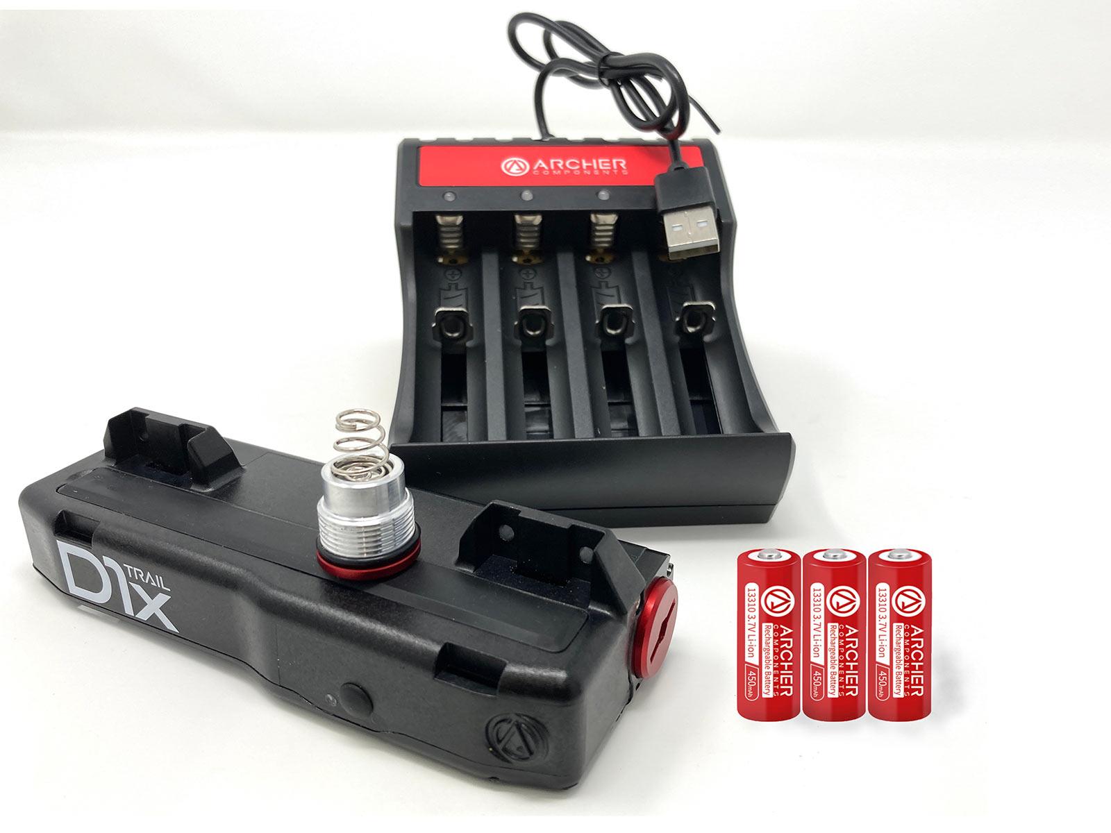 Archer D1x, daha hızlı pilleri bırakarak kablosuz vites değiştirmeyi hızlandırır
