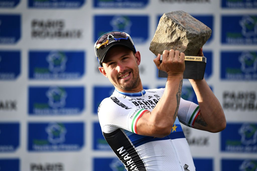Sonny Colbrelli afferma che il mental coaching lo ha aiutato a vincere Parigi-Roubaix