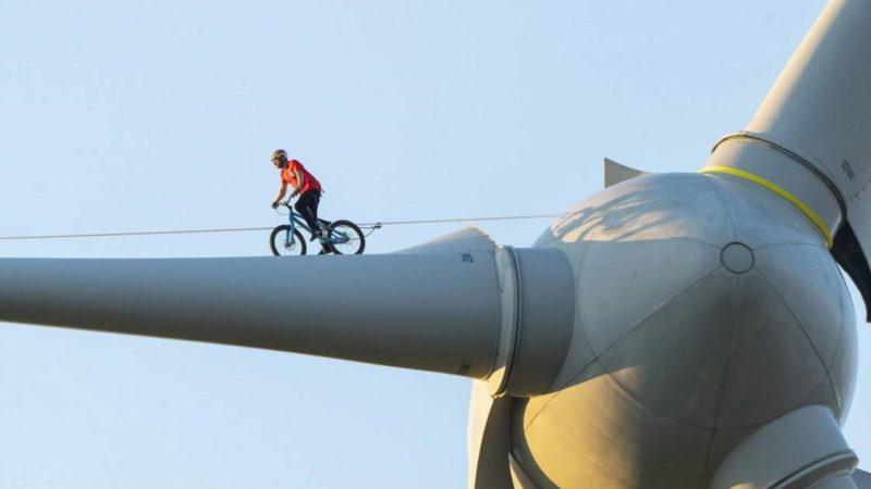 Danny MacAskill Debunks Climate Change Myths One Trick at a Time