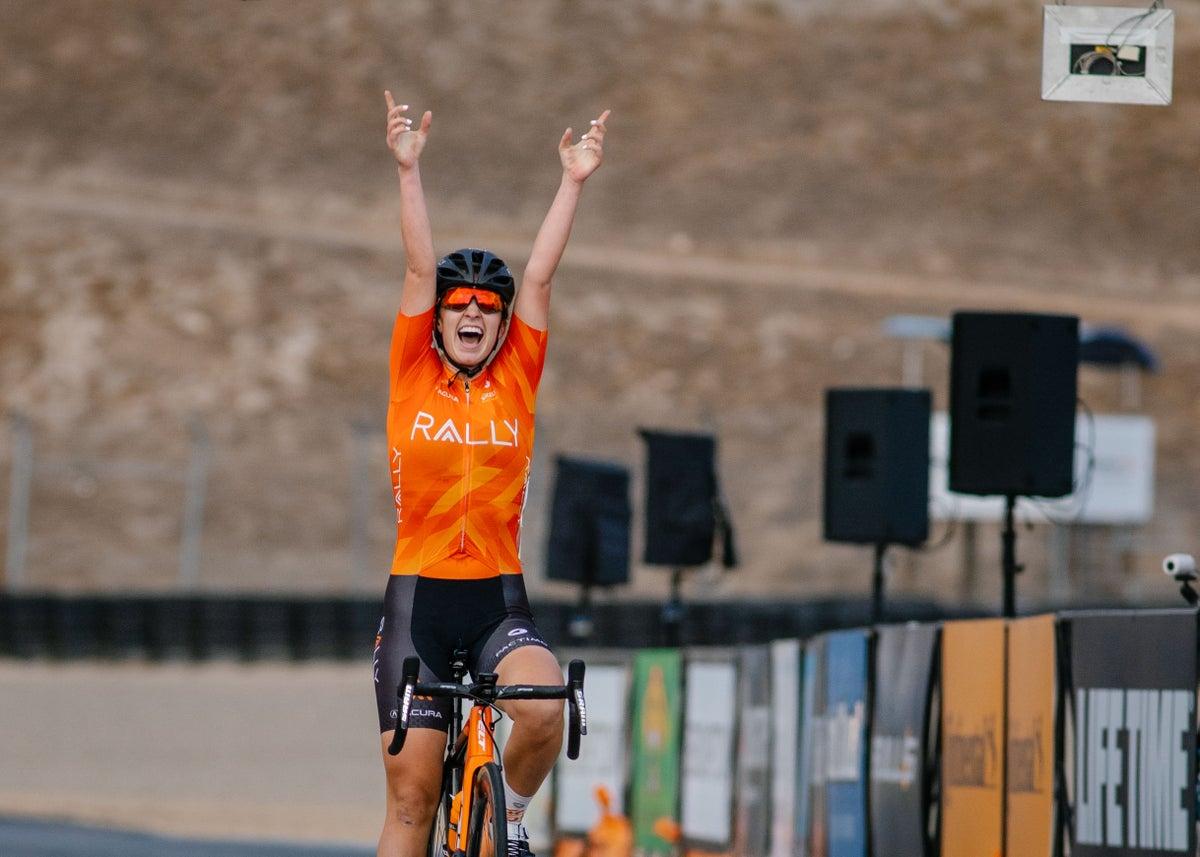 Rally Cycling domina la gara del circuito Sea Otter con tre sul podio